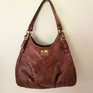COACH - Chocolate brown handbag